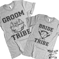 Bride Tribe Groom Tribe Shirts. Unisex.
