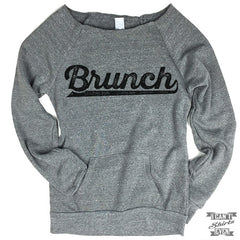 Off-The-Shoulder Sweater. Brunch.