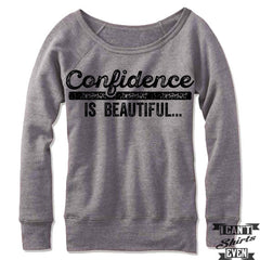 Confidence is Beautiful Off Shoulder Sweater