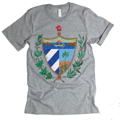 Cuba Coat Of Arms T-shirt.