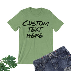 Your Logo Here Shirt. Custom Tee.