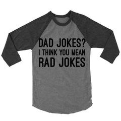 Dad Jokes? Baseball Shirt