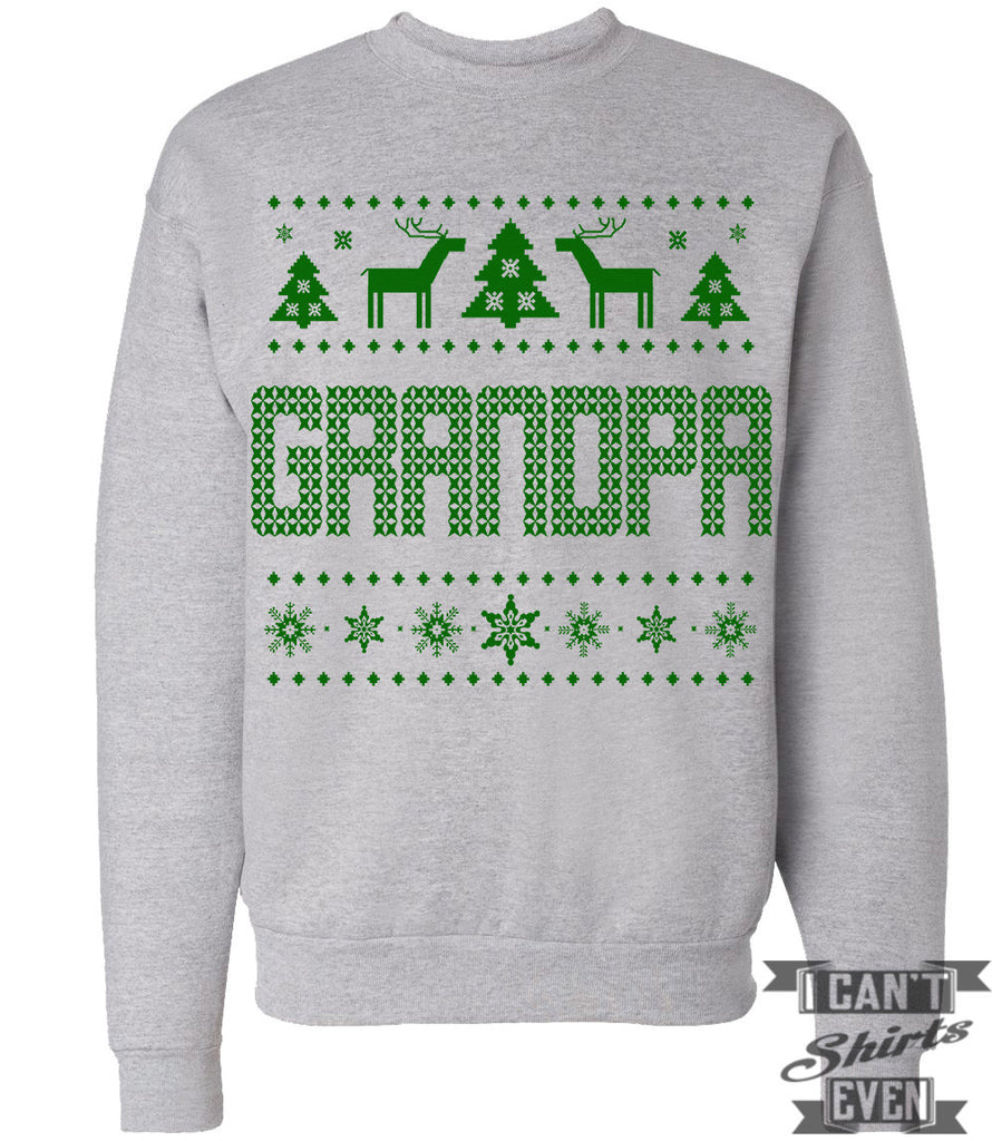 Grandpa Ugly Christmas Sweater