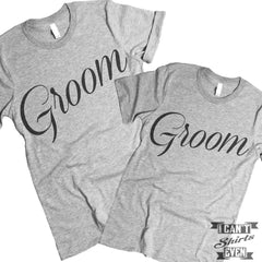 Groom Groom Shirts. Gay Marriage. LGBT.
