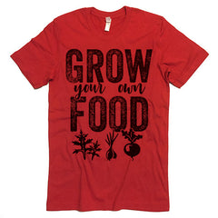 grow your own food tee shirt