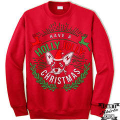 Have A Holly Jolly Christmas Sweater. Jumper.