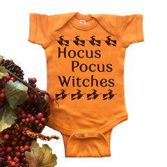 Hocus Pocus Witches Onesie.