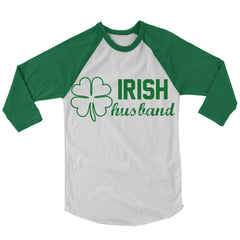 Irish Husband Baseball Shirt