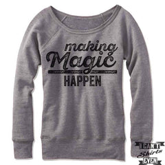 Making Magic Happen Off Shoulder Sweater.