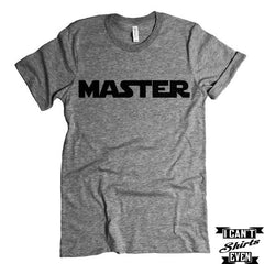 Master T-shirt  Funny Tee. Personalized T-shirt.