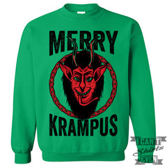 Merry Krampus Sweater. Jumper.
