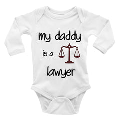 daddy is a lawyer