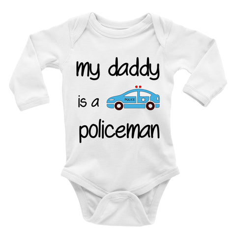 my daddy is a policeman