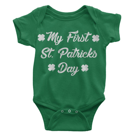 My First St. Patrick's Day bodysuit