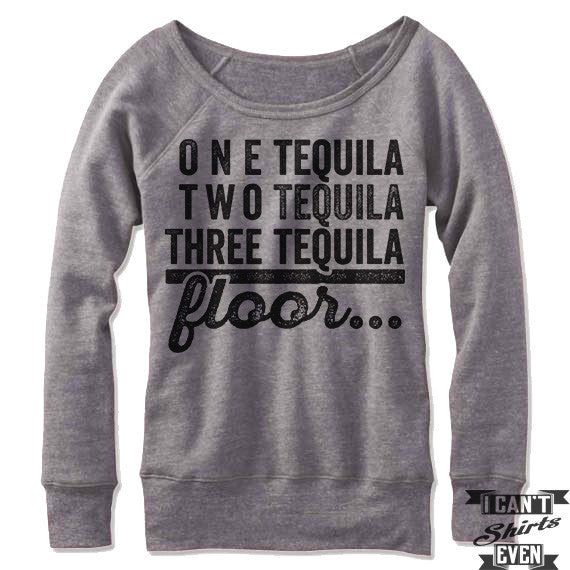 One Tequila Two Tequila Off-The-Shoulder Sweater