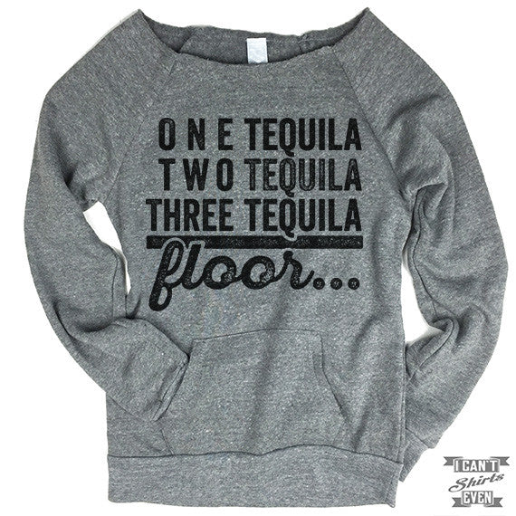 Off-The-Shoulder Sweater. One Tequila Two Tequila.