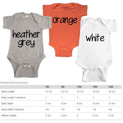 Set of 3 Baby Bodysuits. Halloween. Thanksgiving. Christmas.