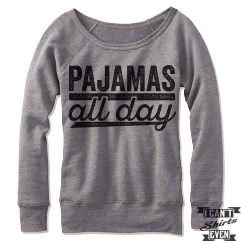 Pajamas All Day Off Shoulder Sweater