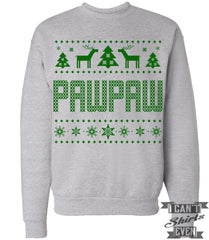 PawPaw Ugly Christmas Sweatshirt