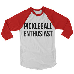 Pickleball Enthusiast Baseball Shirt