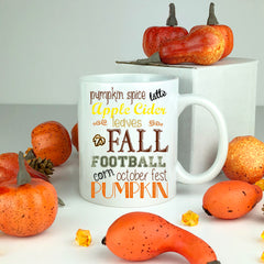 fall typography