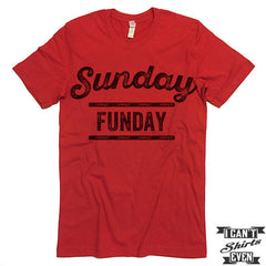 Sunday Funday T-shirt. Football Fan Shirt.