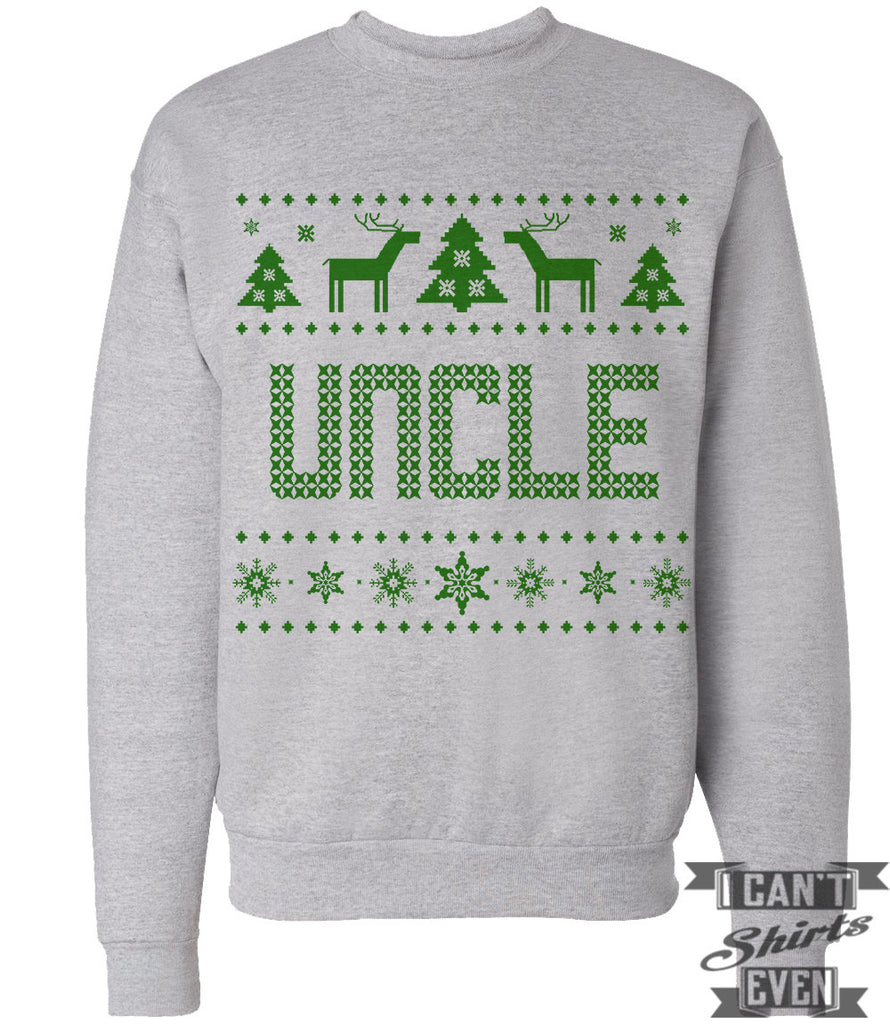 Uncle Ugly Christmas Sweater.