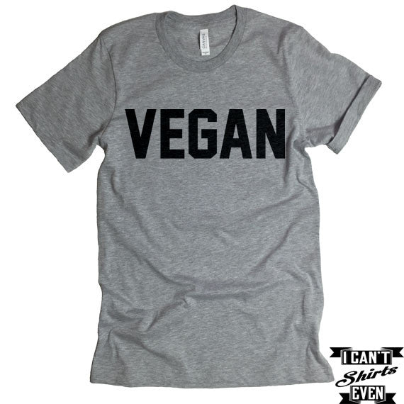 Vegan T-shirt. I Am Vegan Shirt. Funny Tee. T-shirt.