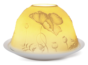 welink light glow dome candle holder