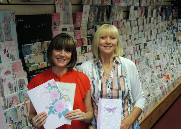 Emma Gillett & Pauline Gillett, Special Occasions Giftware Card and Gift shop Castle Bromwich