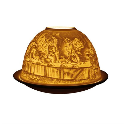Alice in Wonderland Light Glow Porcelain Dome