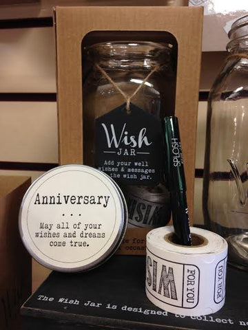 Anniversary Wish Jar - Special Occasions Giftware