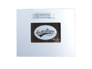 Congratulations Splosh Signature Frame - Special Occasions Giftware