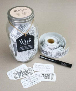 The Loving Couple Wish Jar - Special Occasions Giftware