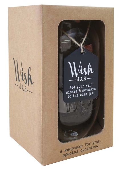 Wishes Wish Jar - Special Occasions Giftware