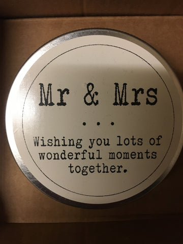 Mr and Mrs Wish Jar