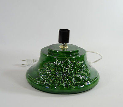 Replacement Ceramic Christmas Tree Base Large Holly Made to Order