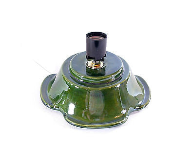 Green Replacement Base for your Ceramic ChristmasTree Doc Holliday made to order