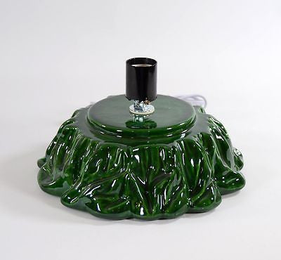 Ceramic Christmas Tree Replacement Base Green Large Drape