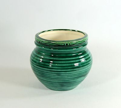 Medium Pottery Style Green