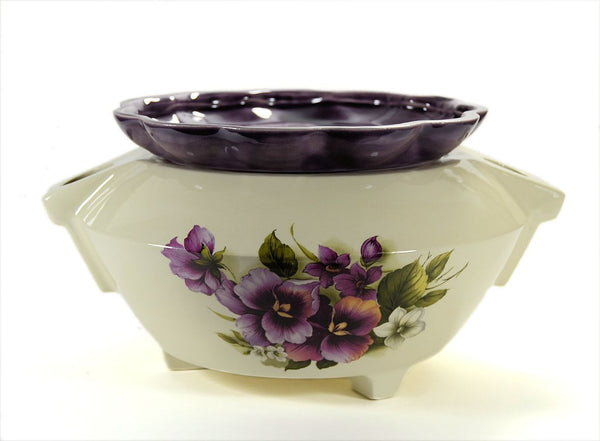 Extra Large African Violet Pot-Choose a Motif