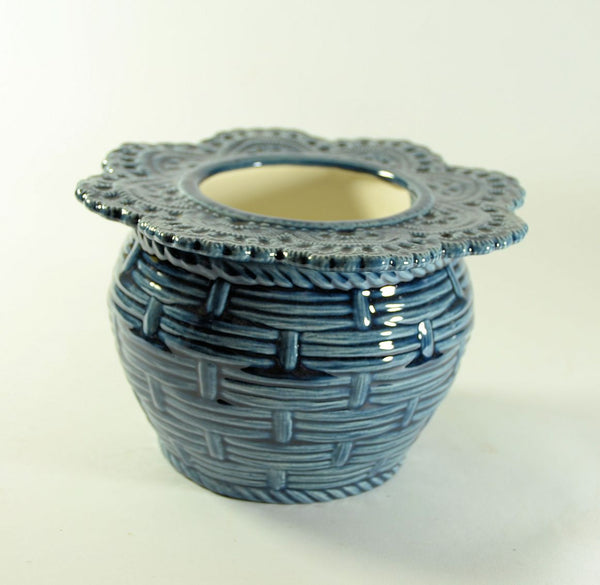 Basket Weave Violet Pot Small choose a color