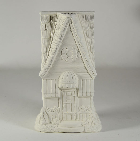 Fairy Garden House U Paint Ceramic Bisque