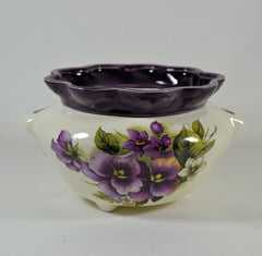 Large African Violet Pot-Choice of Motifs