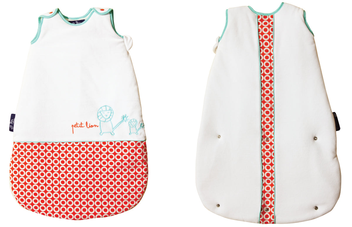 La Petite Chose baby sleep sack lion