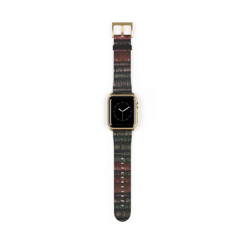 Book Spines Pattern Design Watch Band for Apple Watch - Gifts For Reading Addicts