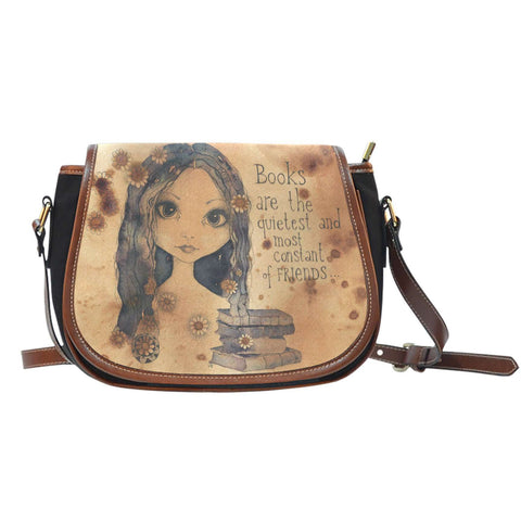 The 'Reader' Saddle Bag-For Reading Addicts