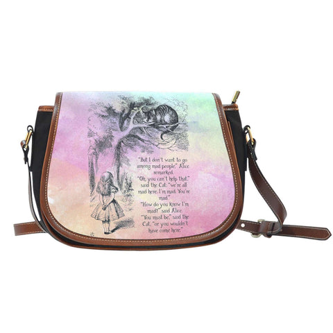 Alice in Wonderland Saddle Bags-For Reading Addicts