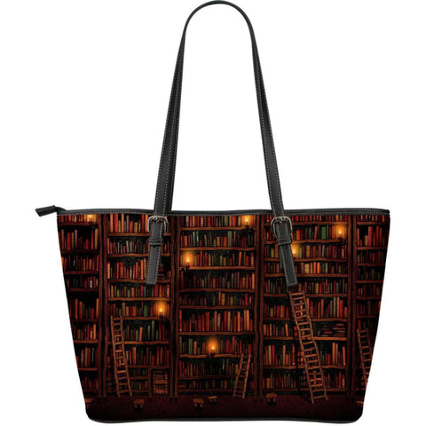 Bookshelves Tote Bag - Gifts For Reading Addicts