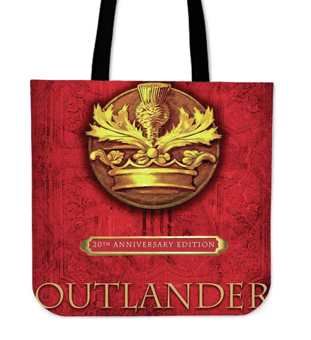 Outlander Bookcover tote bag